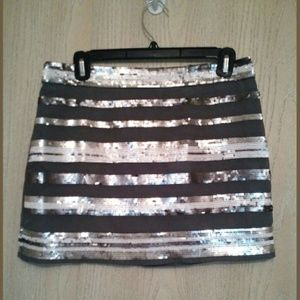 Andrew Charles Dresses & Skirts - NWT $89 sequin grey skirt