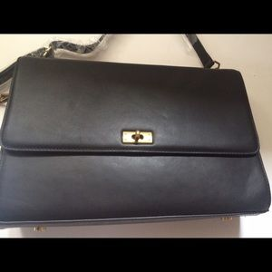 J. Crew Handbags - NWT J.Crew Edie Grand bag black handbag purse