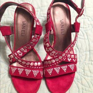 Vaneli Shoes - Like new, super pretty VANELI wedges