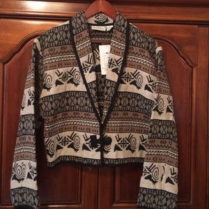 Flashback tan tapestry jacket