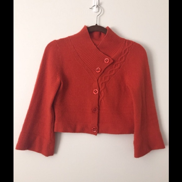81% off Guinevere Sweaters - Anthropologie , Guinevere crop Jacket ...