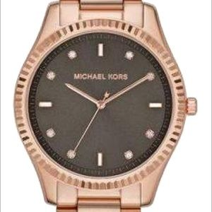 NWT MICHAEL KORS Blake Rose Gold-Tone Watch MK3227