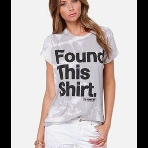 The Laundry Room Tops - 🎉HOST PICK🎉'Found This Shirt' by Laundry Room