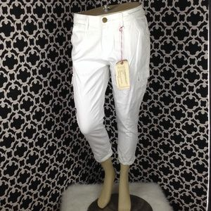 🆕LISTING Current/Elliott Skinny Cargo Crop Pants