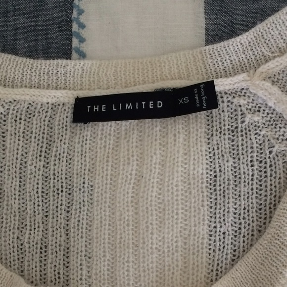 The Limited Sweaters - Ivory Sweater from The Limited