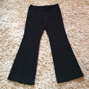 Tracy Evans Limited Pants - Cuffed Black Work Trousers
