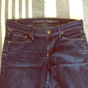 Citizens of Humanity Denim - Citizens of Humanity Ava Petite Straight Leg Jeans