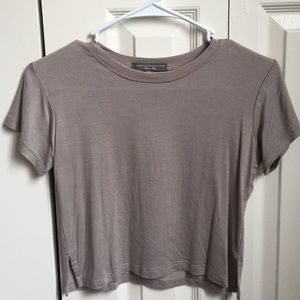 American Eagle Outfitters Tops - Beige crop top