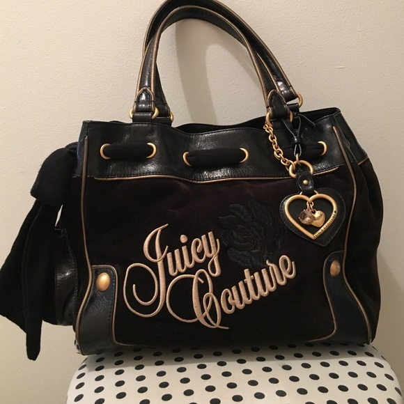 444b31e25d27 Juicy Couture Handbags - Juicy Couture Velour Daydreamer bag