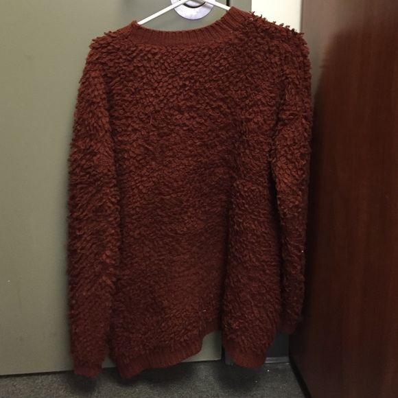 50% off Forever 21 Sweaters - Brown Fuzzy Sweater from Sarah's ...