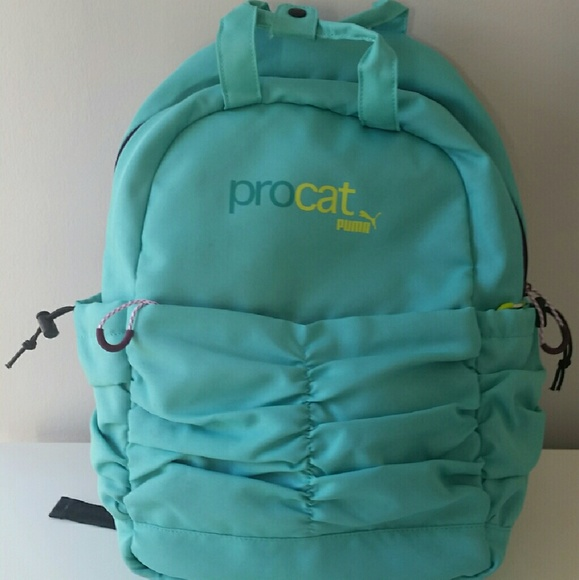 cbd2940f88e5 Mint green Puma Procat backpack. M 56cb5d594e95a37559006020