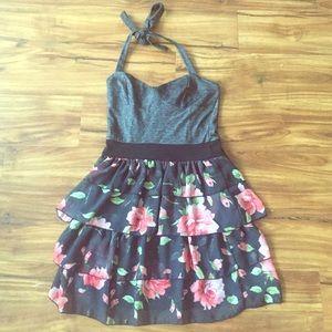 Nordstrom Halter floral dress
