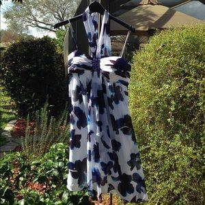 SL Fashions Dresses & Skirts - SL Fashions Print Dress with Rhinestones