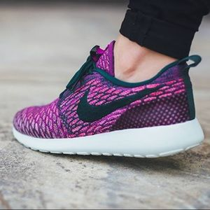 Nike Roshe Flyknit Stivali Viola Delle Donne TRxnmD4e