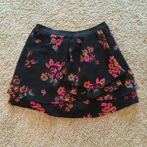Volcom Dresses & Skirts - Floral Ruffle Mini Skirt