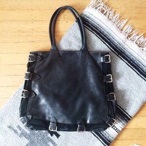    BERGĒ    Italian Leather Handbag