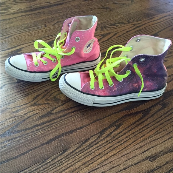 3f59aa5cc20b Converse Shoes - Cosmic high top converse sneakers.