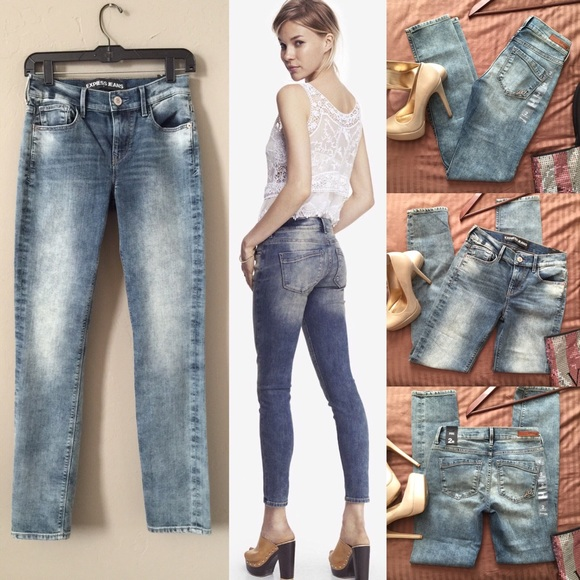 69% off Express Denim - HP🎉 Express booty lift Mia mid rise ...