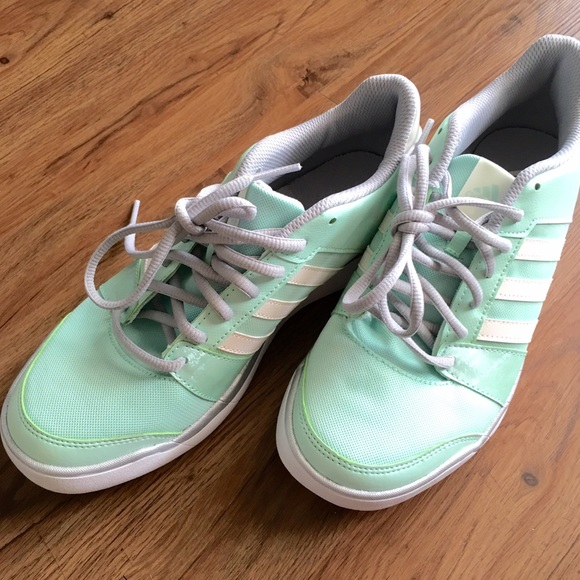 adidas shoes mint green 592614