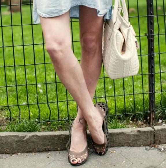 CROCS Shoes   Crocs Peep Toe Flats Nwob