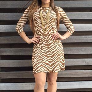 J. Crew Dresses & Skirts - J. Crew Collection Zebra Print Dress