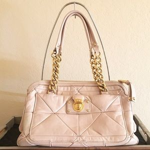 Marc Jacobs Handbags - Marc Jacobs Pink Leather Satchel