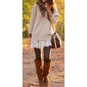 🔥CLEARANCE Brown Fleece Lined High Waist Legging