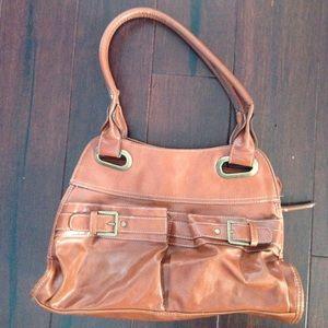 80%20 Handbags - Faux leather shoulder bag!