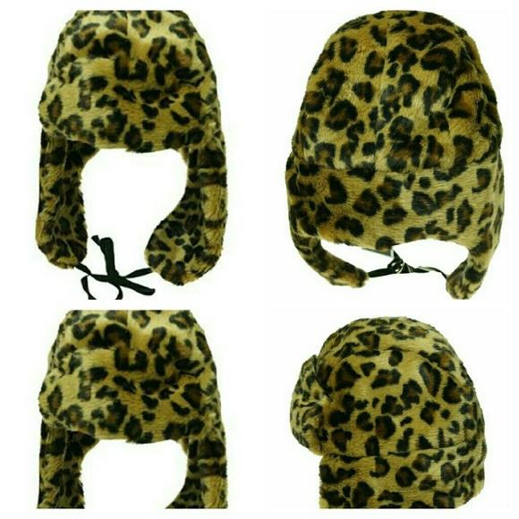 00808a93d2043 Nine West Women s Faux Fur Trooper Aviator Hat