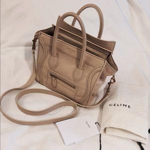 celine style bag - 55% off Celine Handbags - ??SALE??Celine nano leather bag ...