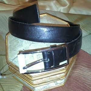 Other - Black Leather Belt #912