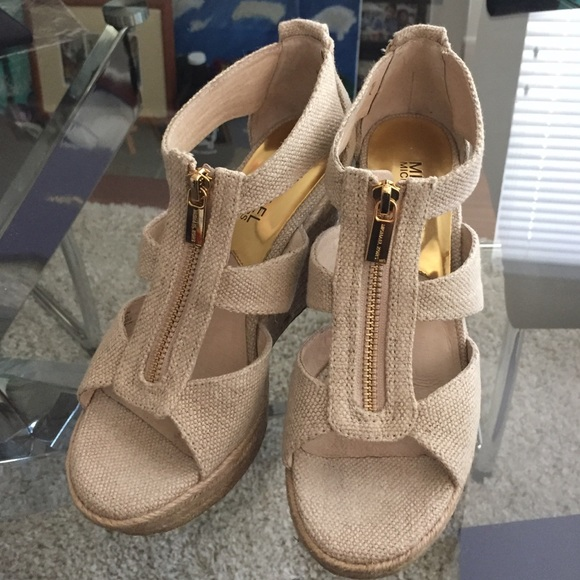db85a813db53 Michael Kors Damita Wedge Sandals. M 56cb8dca522b451d6400aa30