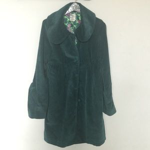 Tulle Green Corduroy Jacket - Medium