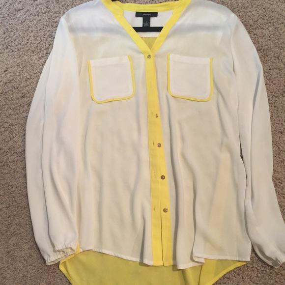 38 Off Alfani Tops New Alfani Dress Shirt From Meagan