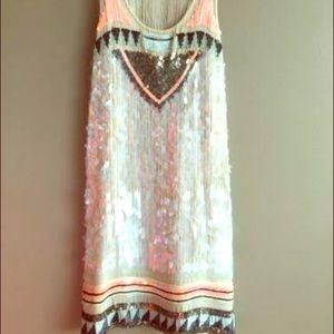 all saints sequin dress on Poshmark