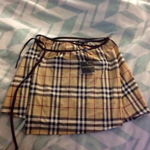 31e210e497ef Burberry Swim | Wrap Skirt | Poshmark
