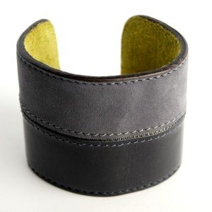 Colette Malouf Jewelry - Patent Leather Cuff