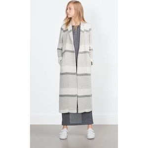 Zara Jackets & Blazers - Zara Striped Coat
