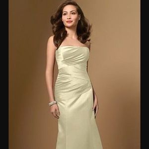 Alfred Angelo Dresses & Skirts - Alfred Angelo Champagne Dress- Make an Offer