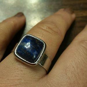 Genuine Lapis Lazuli ring