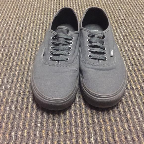 All grey brand new Vans. M 56cbaec67f0a05707c078612 6915129f4