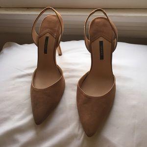 Forever 21 Nude Heels