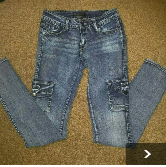 77% off Black Crystal Denim - Black Crystal Jeans PRICE DROP ...