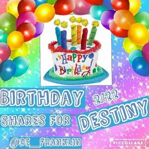 Other - Happy Birthday Destiny
