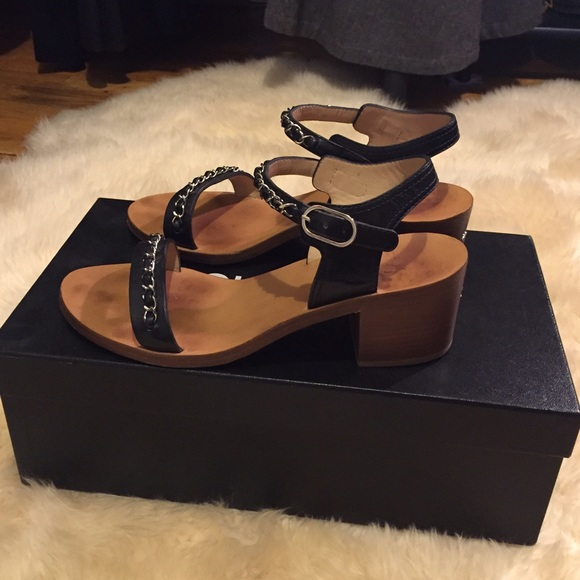 35% off CHANEL Shoes - Chanel sandals from Jessica's ...