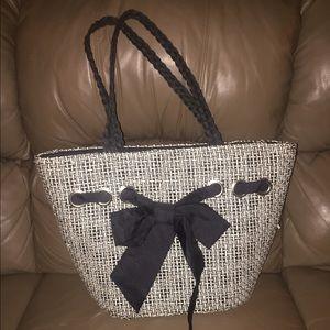Handbags - STRAW TOTE
