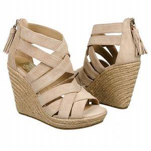 Shoes - DV for dolce vita Toni natural wedges