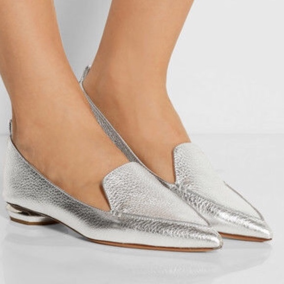 clearance outlet store cheap sale marketable Nicholas Kirkwood Beya Metallic Loafers outlet store cheap price discount cheap online 4tS0XXp