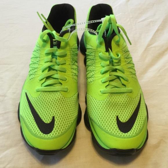 Brand new Nike Lunar Sprint volt green size 7