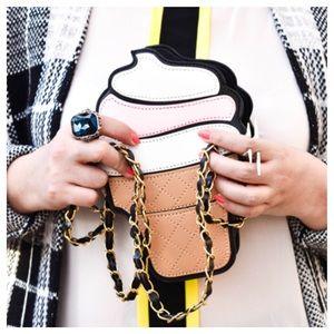 Handbags - SALE Ice Cream Clutch Crossbody Bag